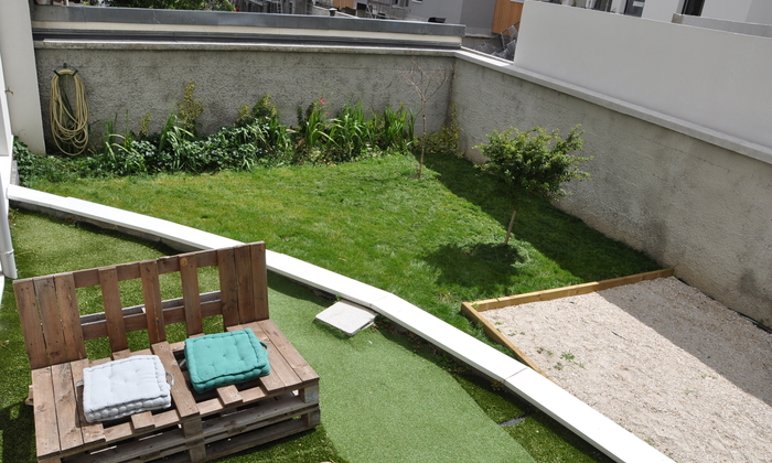 New apartment with garden €25