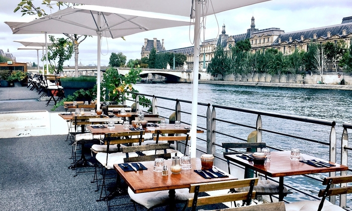 Penitentiary under the Pont des Arts with a view o €380