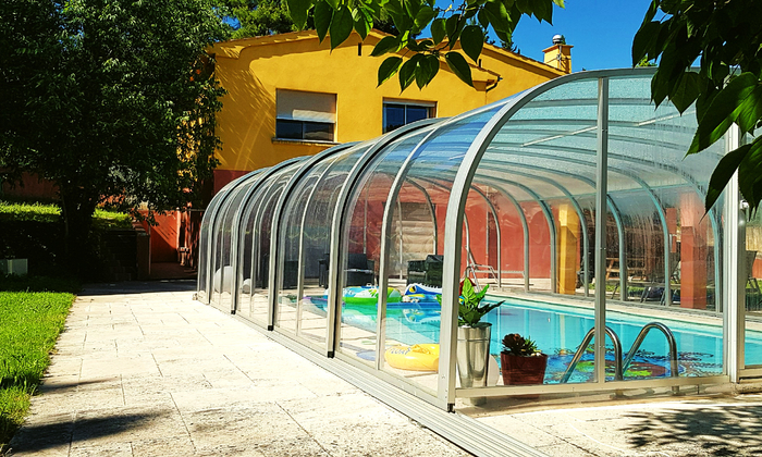 ★★★ Private villa downstairs, SALT pool, HEATED and covered ★★★ €65