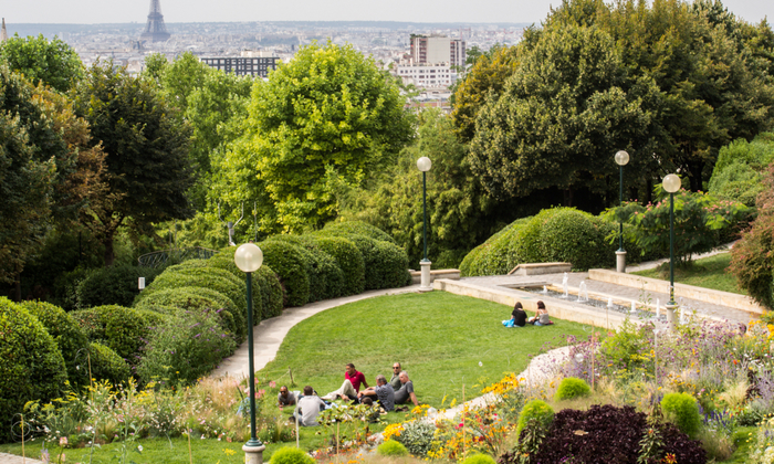 Les Hauts de Paris reception design area €100