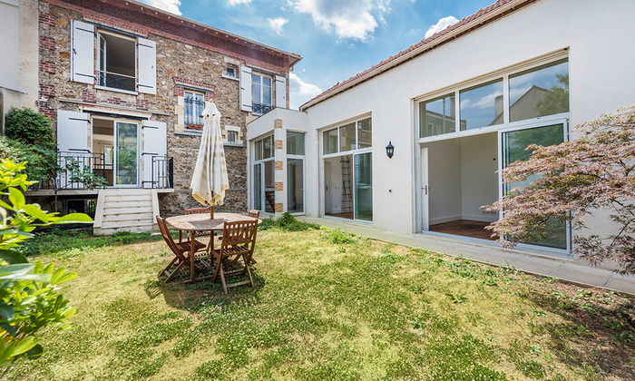 Beautiful house with garden 4 km from Paris €110