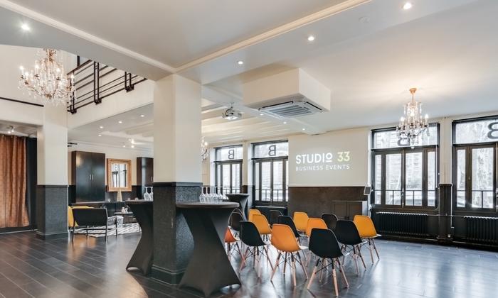 Studio 33 Atypical Reception Room €900