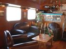 Traditional houseboat style: the Burdigala €270